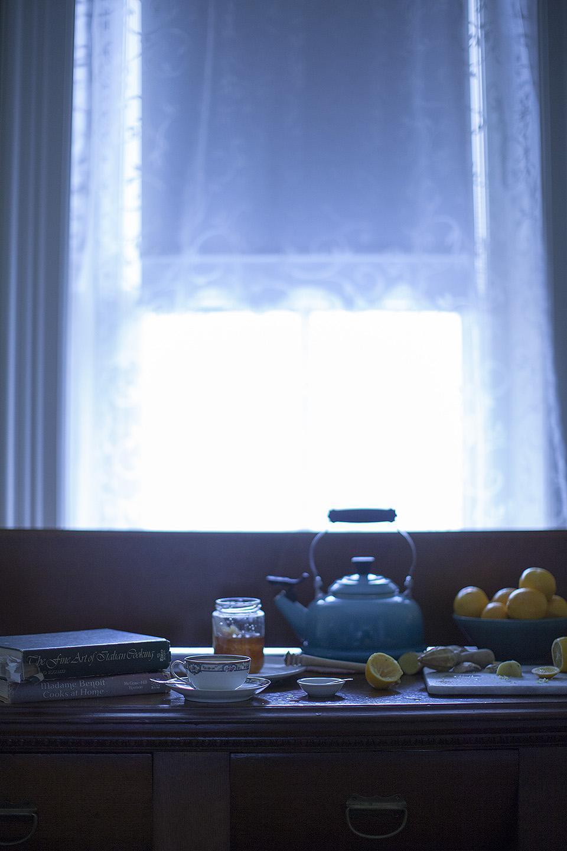 lemon ginger cayenne tea - time to begin again