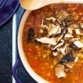 lentil soup - make your belly glad