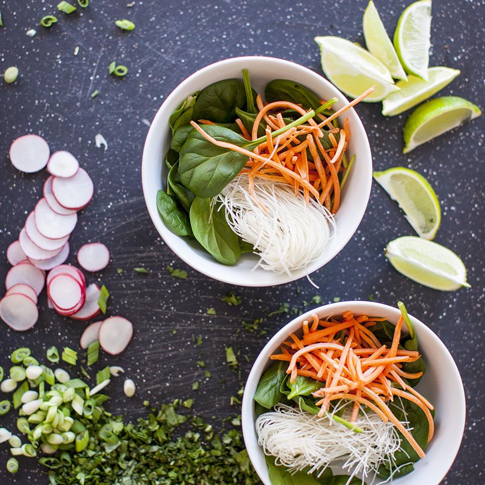 vegetarian pho - Vietnamese noodle soup