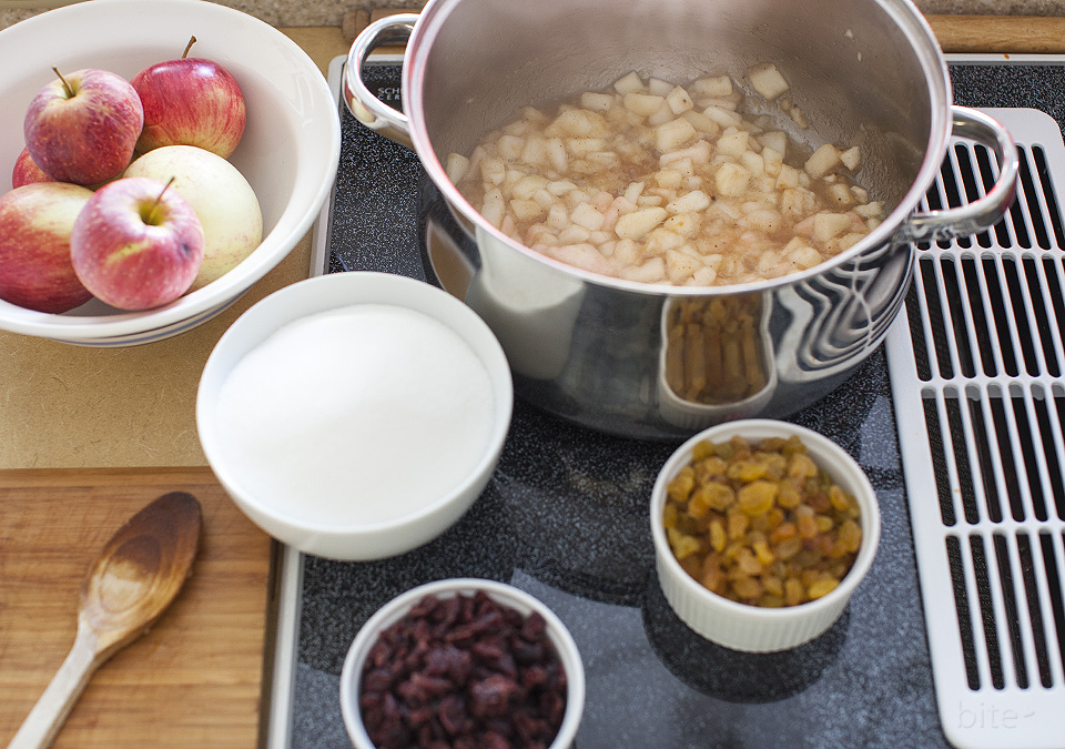 apple and spiced rum conserve l bitebymichelle.com