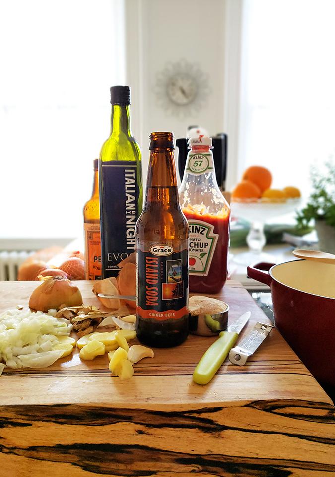 ginger beer bbq sauce l bitebymichelle.com