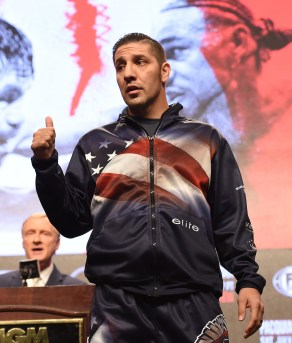 LAS VEGAS - JULY 17: John Molina Jr. attends the final press conference for the PBC on Fox Sports Pay-Per-View at the MGM Grand on July 17, 2019 in Las Vegas, Nevada. (Photo by Frank Micelotta/Fox Sports/PictureGroup)