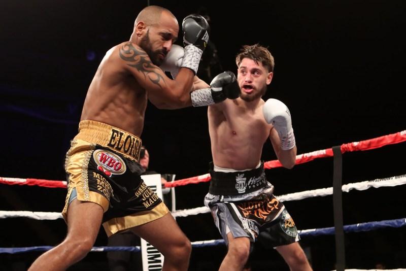 Featherweight Ruben Villa turning back Cuban Alexei Collado in Shreveport, LA