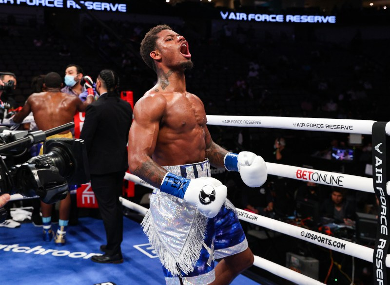 Austin Williams Outguns Denis Douglin to Win 1st 8-Rounder; Raymond Ford and  Aaron Perez Duel To a Split Draw | Bite Down Boxing