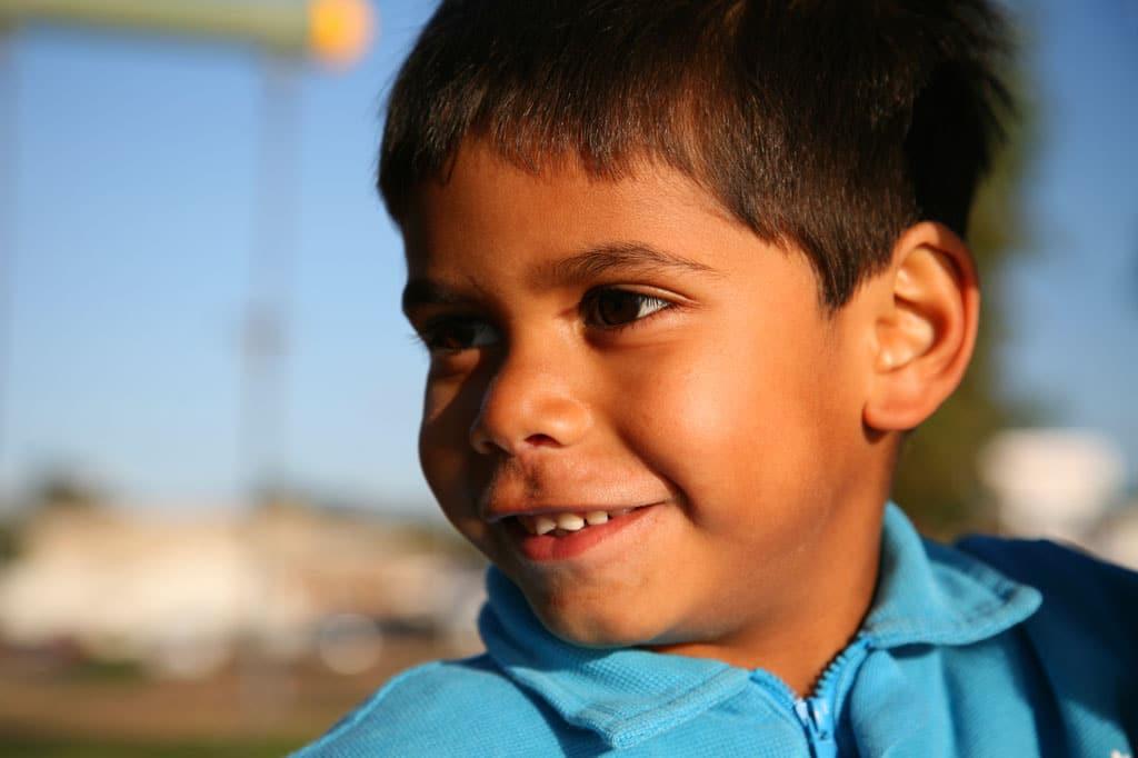 Indigenous-kid