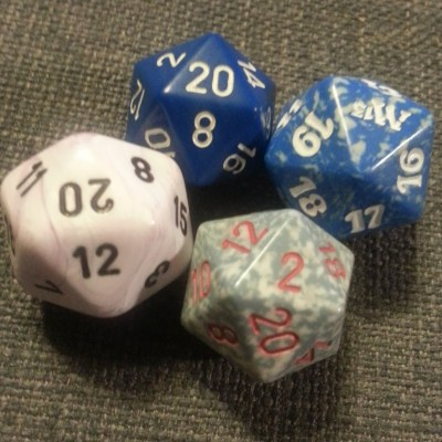 Four D20 in play with the new Angle deck