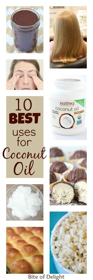 10 Best Uses for Coconut Oil | Hair Mask