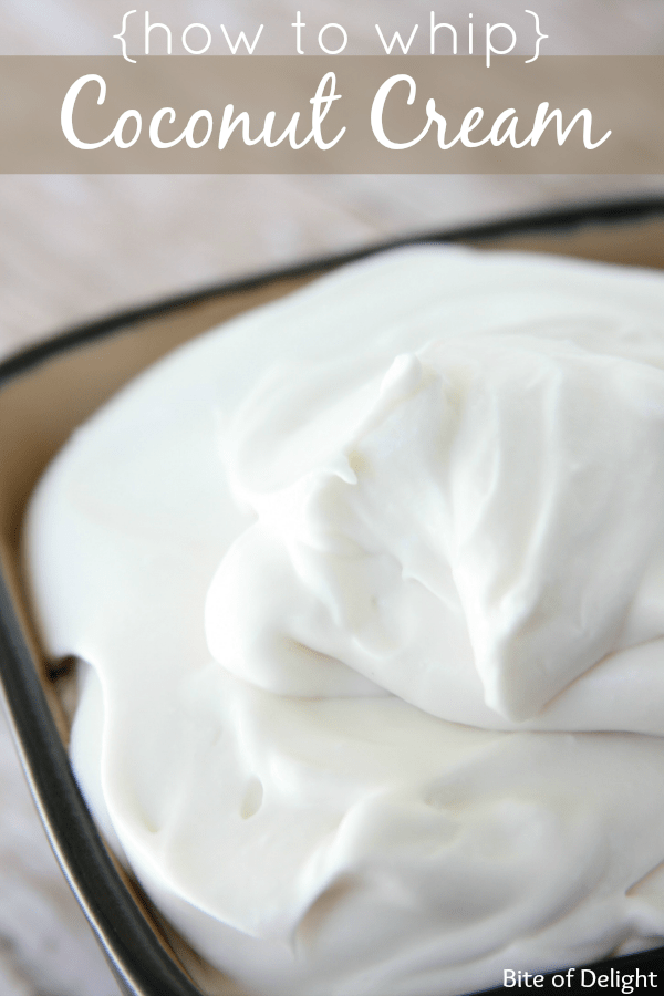How to whip coconut cream | coconut whipped cream | easy recipes