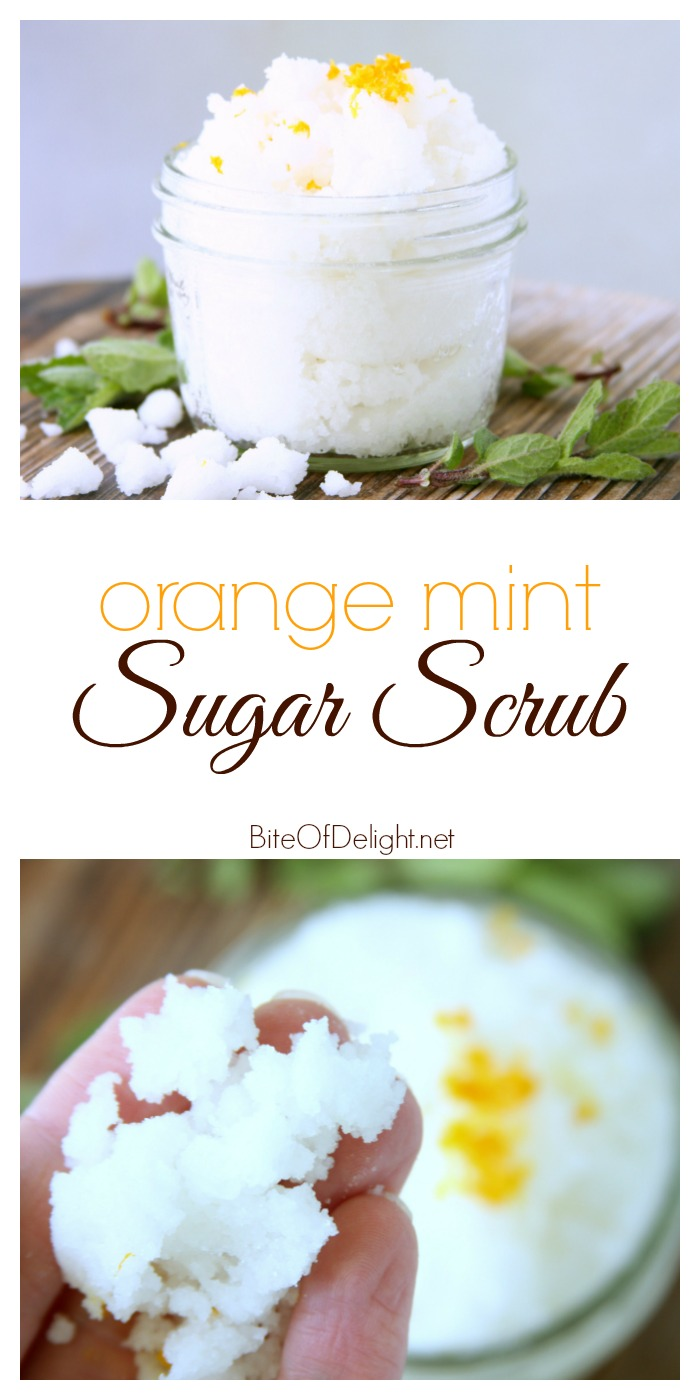 Sugar Scrub Orange Mint pin