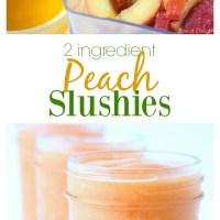 Peach Slushies