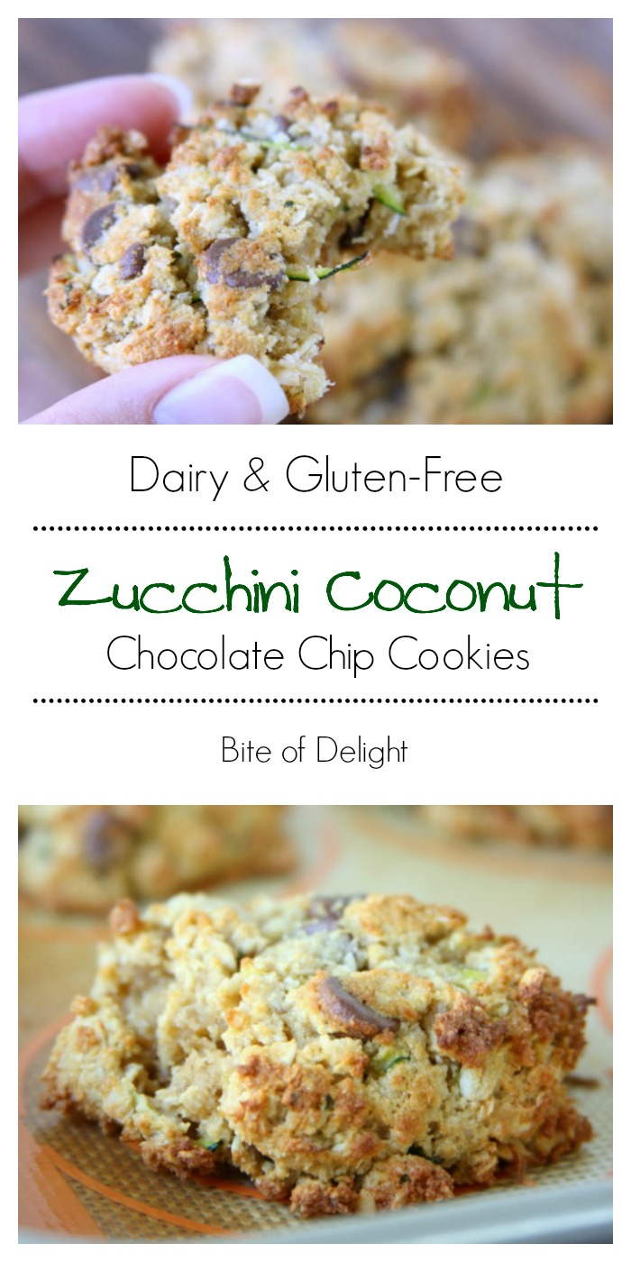 Gluten-Free Zucchini Chocolate Chip Cookies   Easy Recipe   Treat Recipe   Dairy-Free