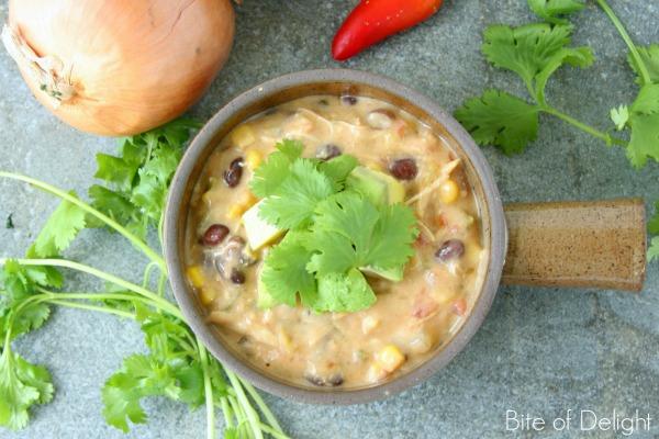 Creamy Chicken Fajita Soup | Easy Recipe