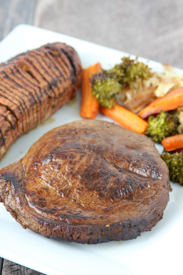 This is the Best Steak Marinade recipe! Made with balsamic vinegar, fresh lemon juice, lots of garlic and more. Such a delicious flavor!