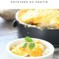 Instant Pot Potatoes Au Gratin