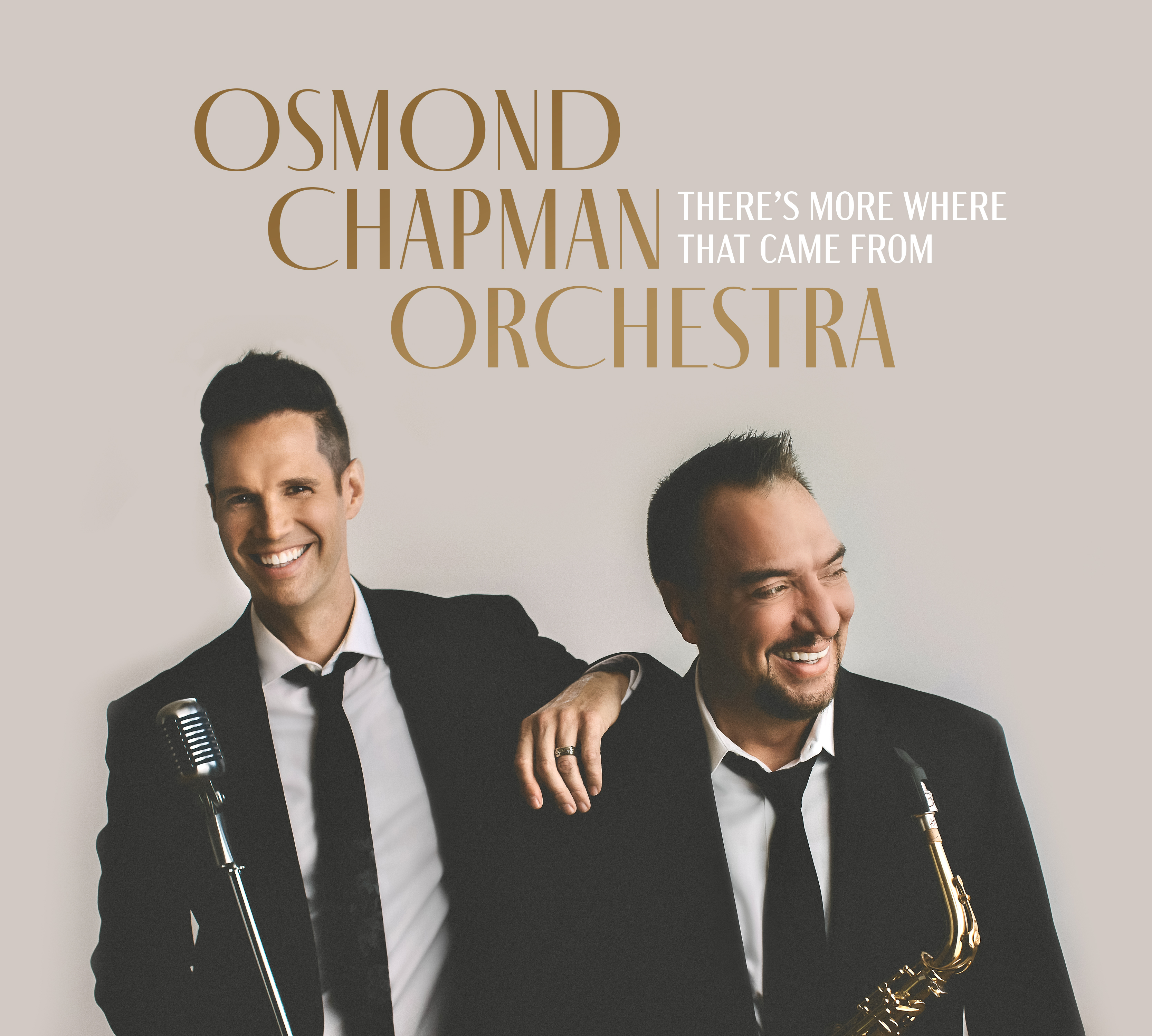 Cover Photo for Osmond Chapman Orchestra new album More Where That Came From
