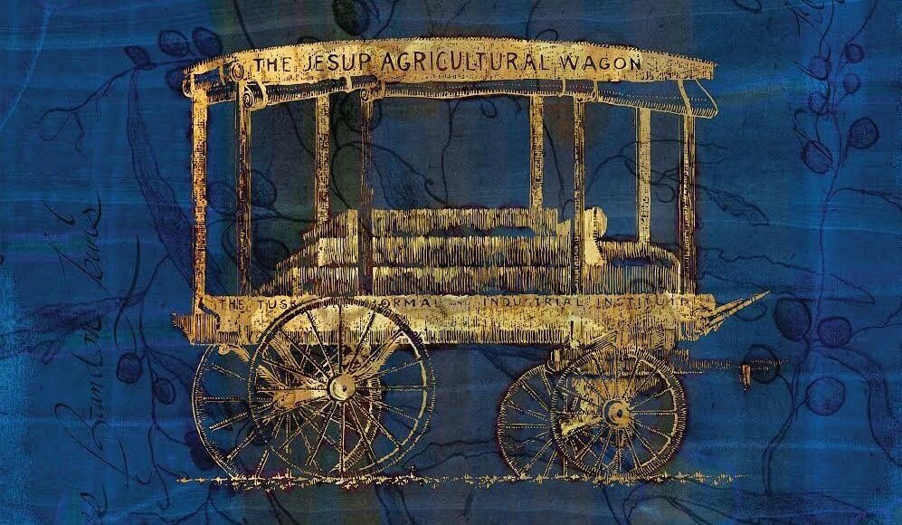 Cover photo of James Brandon Lewis new album Jesup Wagon