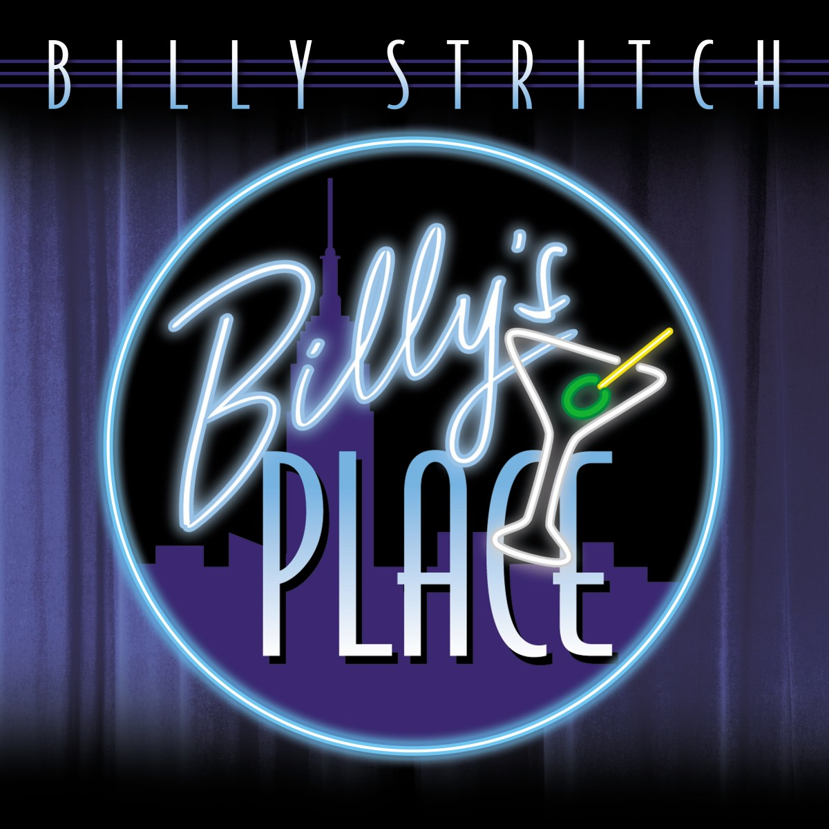 Cover Photo of Billy Stritch's new album Billy's Place