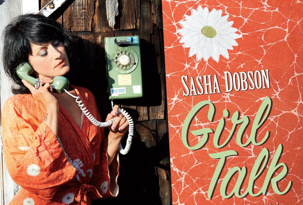 Cover of Sasha Dobson's new jazz album Girl Talk