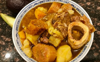 Dominican Sancocho (hearty stew) pressure cooker recipe