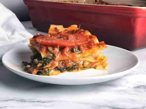 Vegetable & Pesto Lasagna