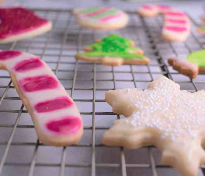 Cut-Out Holiday Sugar Cookies