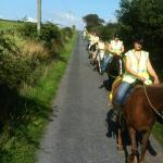 bitless equestrians out for a hack