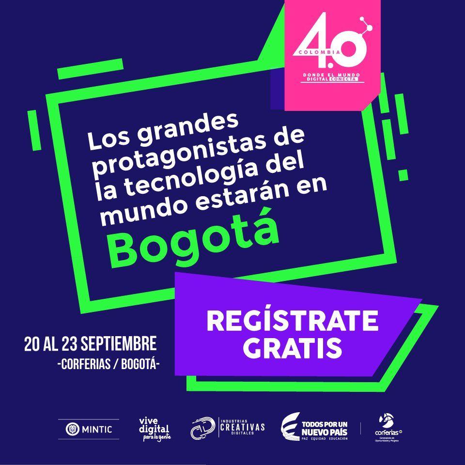 Bit Life Media colombia 4.0 evento ciberseguridad bogotá