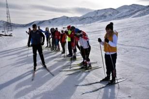 Bitlis'teki kayak hakemliği kursuna 172 kişi katıldı