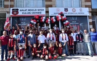 Ahlat Gençlik Spor Kulübü Derneği açıldı