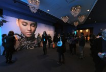 """ALICIA KEYS"" LOBBY DECOR"
