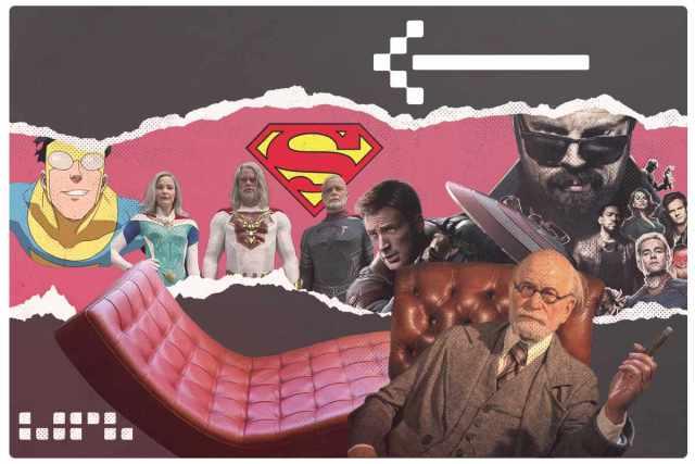 Super herois no divã