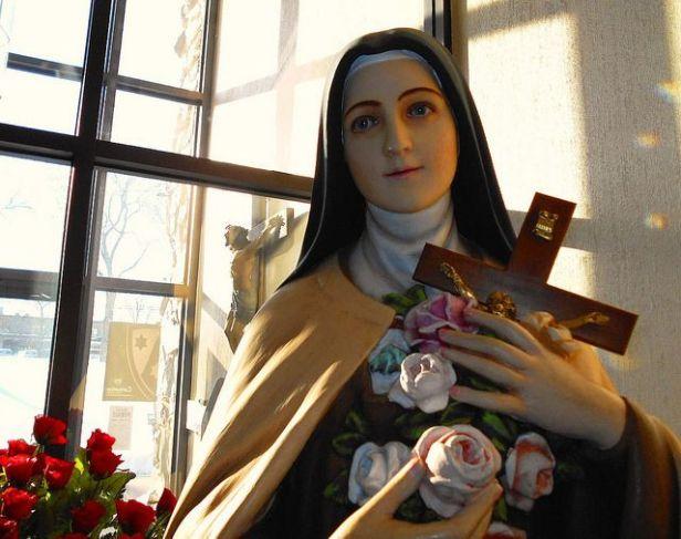 Slikovni rezultat za molitva maloj tereziji od djeteta isusa