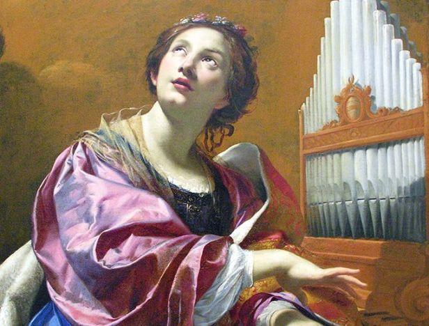 Image result for Molitva svetoj Ceciliji