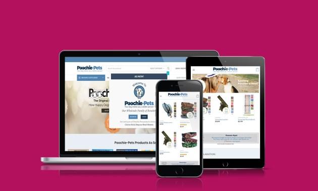 Poochie-Pets-Website-Design-Browsers