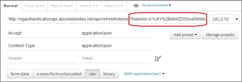 Enable OAuth Refresh Tokens in AngularJS App using ASP .NET Web API 2, and Owin (6/6)