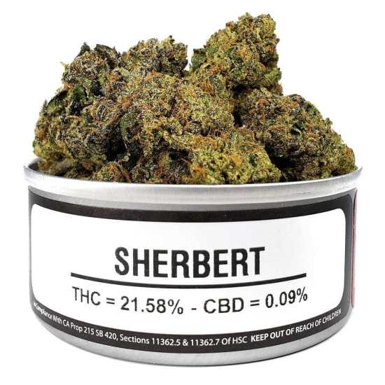 sherbert weed cans