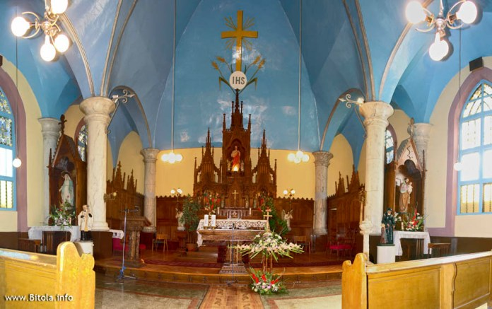 Catholic Church Bitola - interior