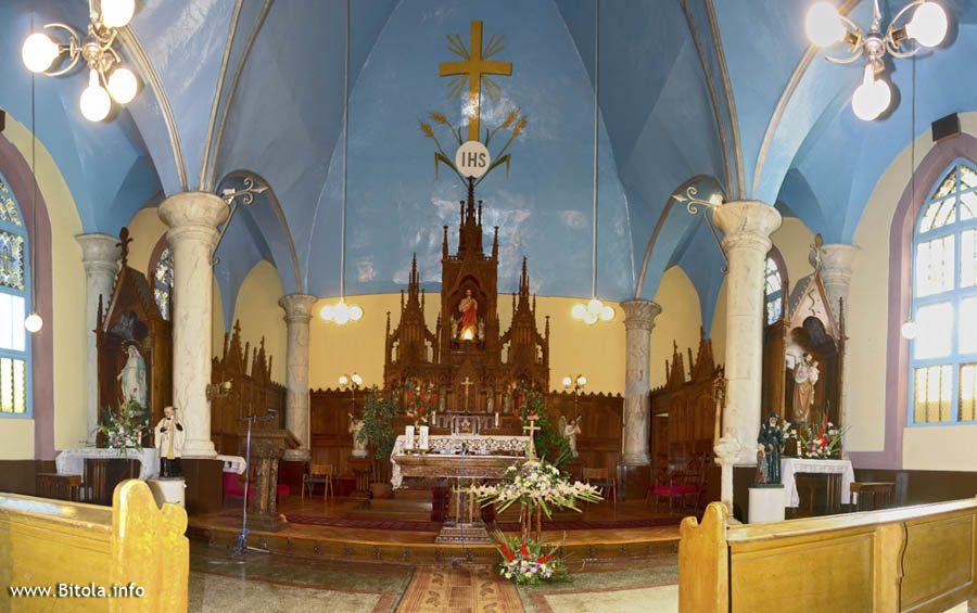 Catholic Church Bitola - interior