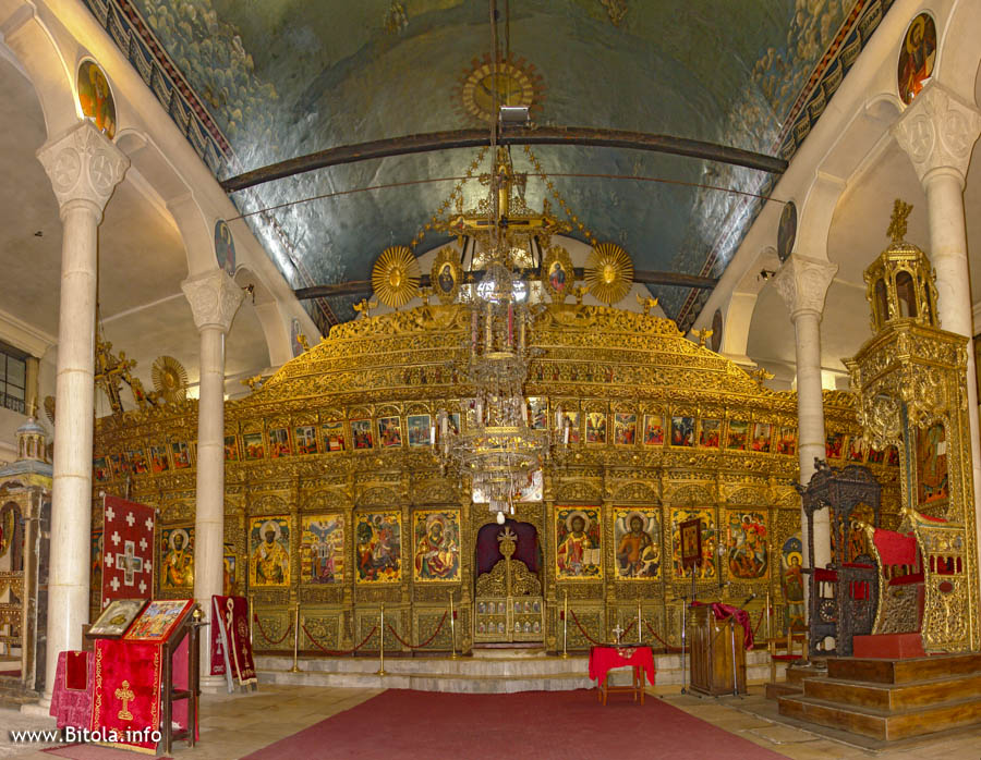 Iconostasis - Saint Dimitrij Church in Bitola (Св. Димитрија Битола)