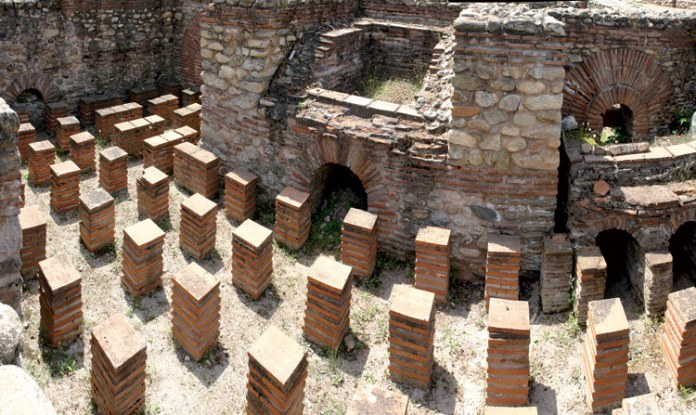 Roman baths - Therma - Heraclea Lyncestis