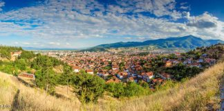 bitola panorama toward south