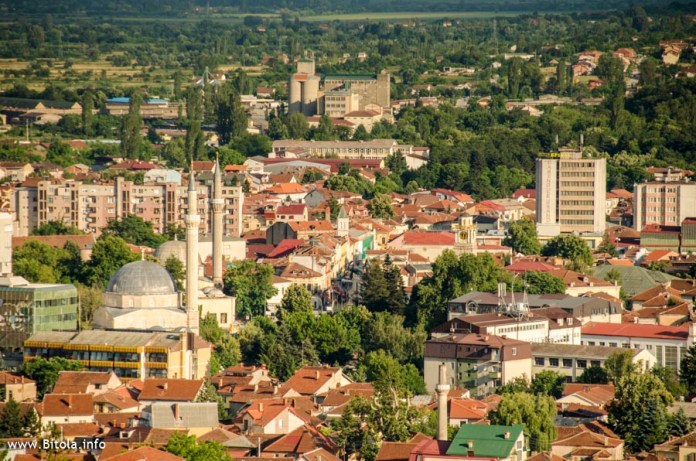 Bitola panorama - view from north toward south