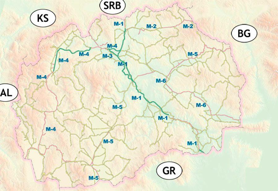 roads in macedonia