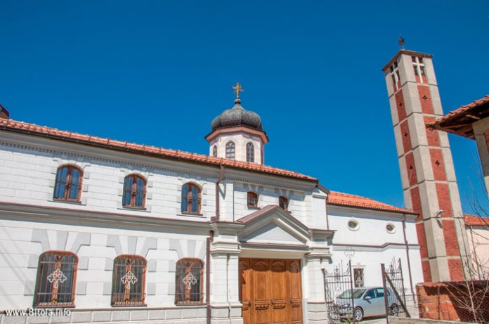 Church St Mary Bitola - back view