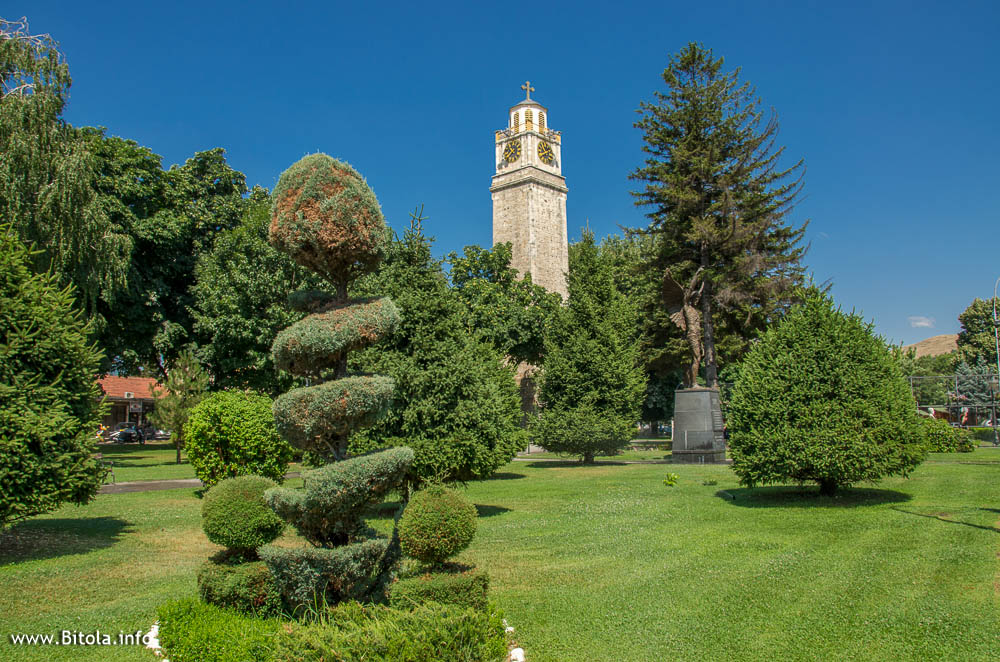 clock tower bitola macedonia