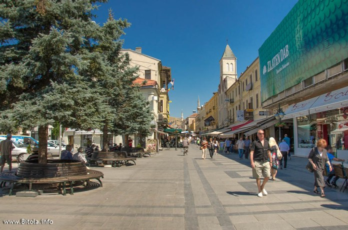Sirok Sokak - the main street in Bitola