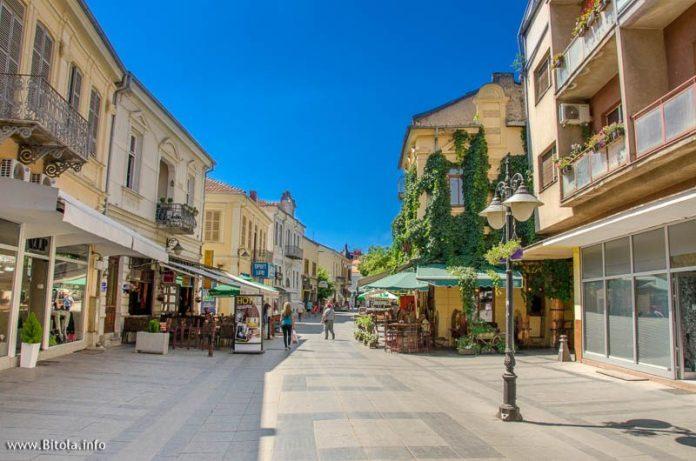 Shirok Sokak in Bitola Macedonia