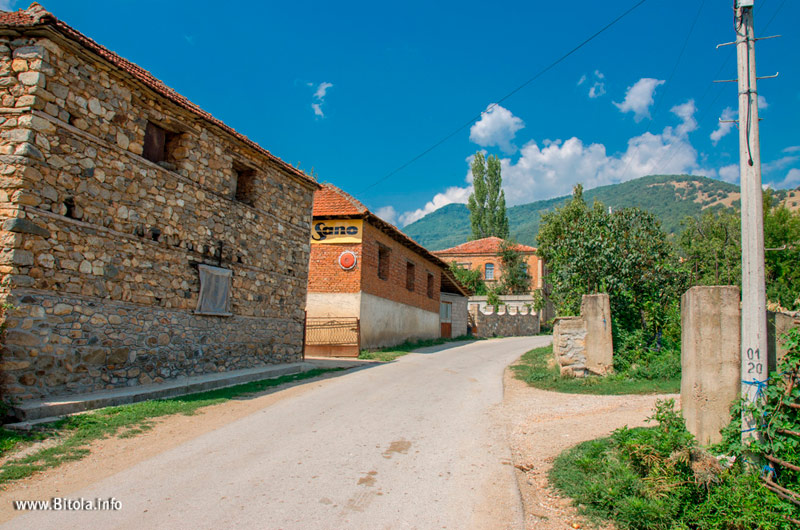 Graeshnica village in Bitola municipality