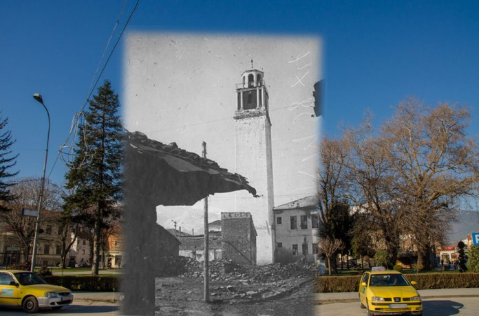 Clock tower Bitola 1917