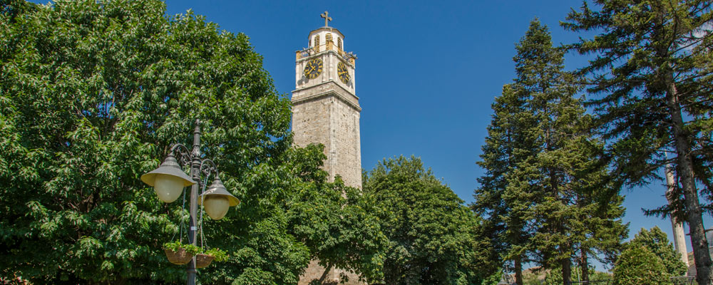 Clock tower in Bitola, Macedonia